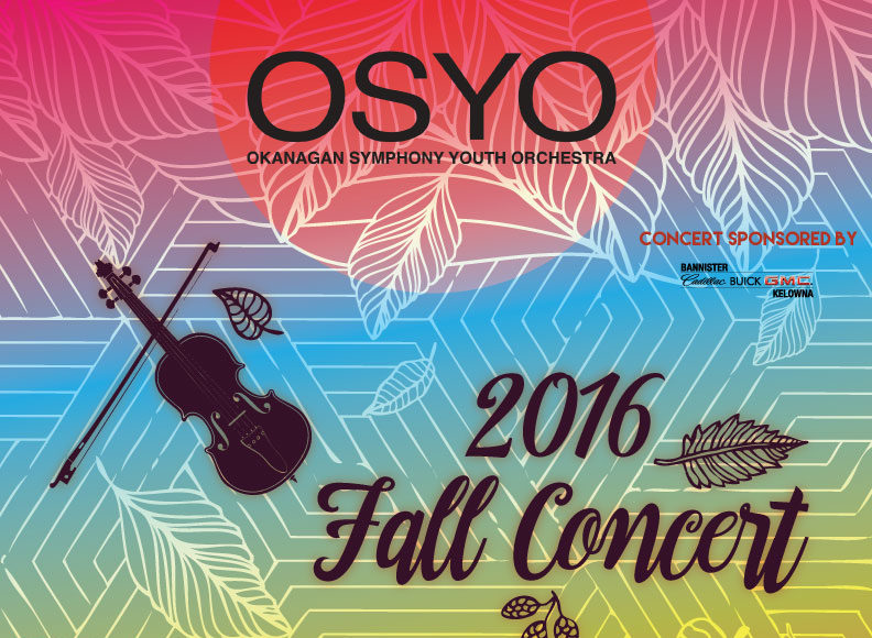 Okanagan Symphony Youth Orchestra Perform This Weekend