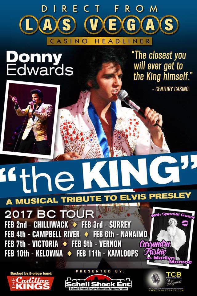 Donny Edwards : The King, A Musical Tribute Tour