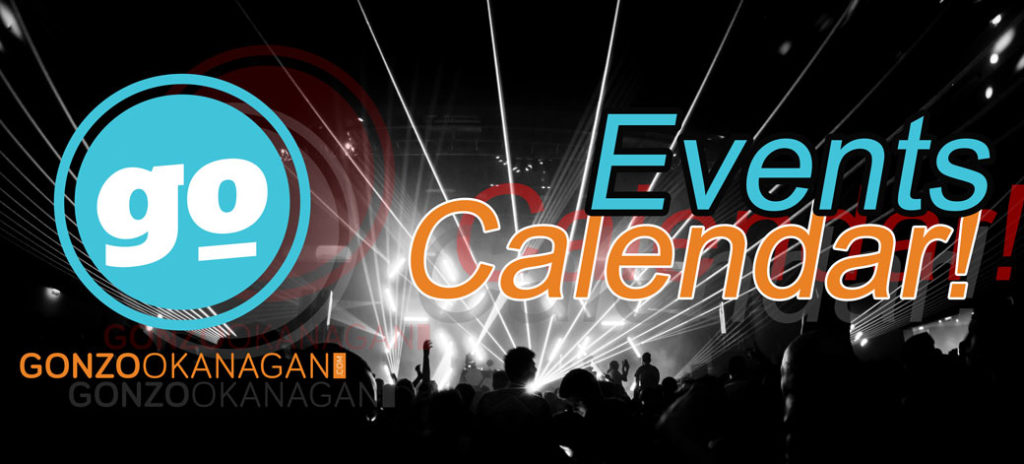Gonzo Okanagan Events Calendar