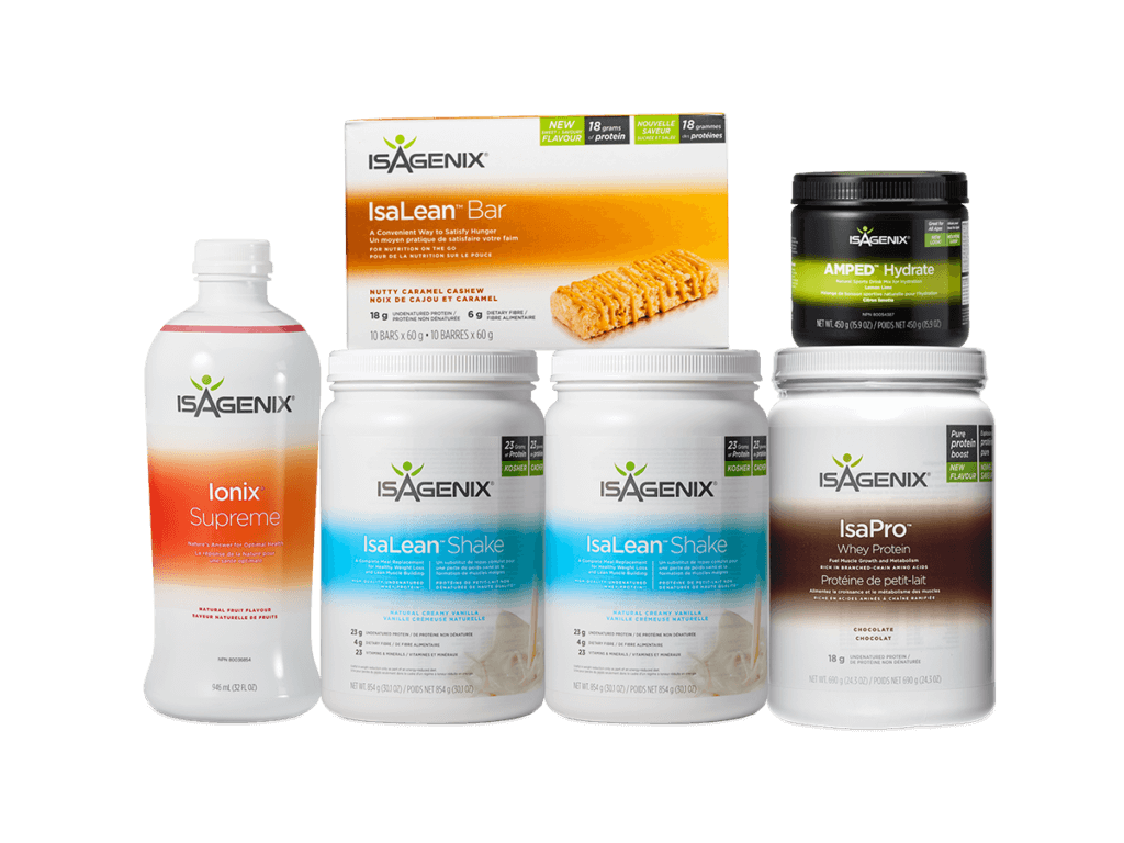 Performance Packs & Programs from Isagenix.