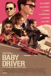 Baby Driver Movie - Cover