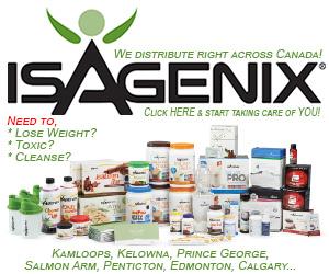 Isagenix cleanse for Kamloops, Kelowna, Vernon, Prince George, Penticton, Victoria, Vancouver, Edmonton, Calgary, British Columbia, Alberta, Canada