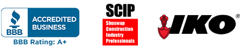 Shuswap Pro Roofing. Salmon Arm Roofing Contractor. Better Business Bureau, SCIP, IKO