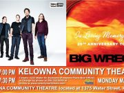 Big Wreck live in Kelowna BC