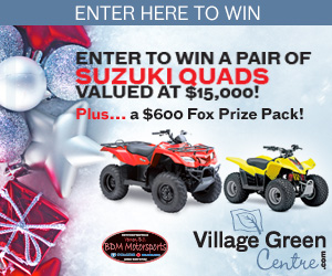 Village Green Centre Giveaway