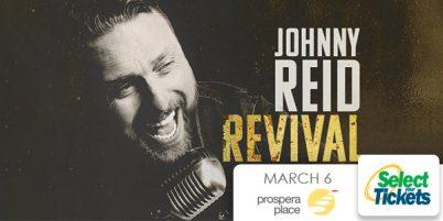 """JOHNNY REID ANNOUNCES """"REVIVAL"""" 2018 NATIONAL TOUR"""