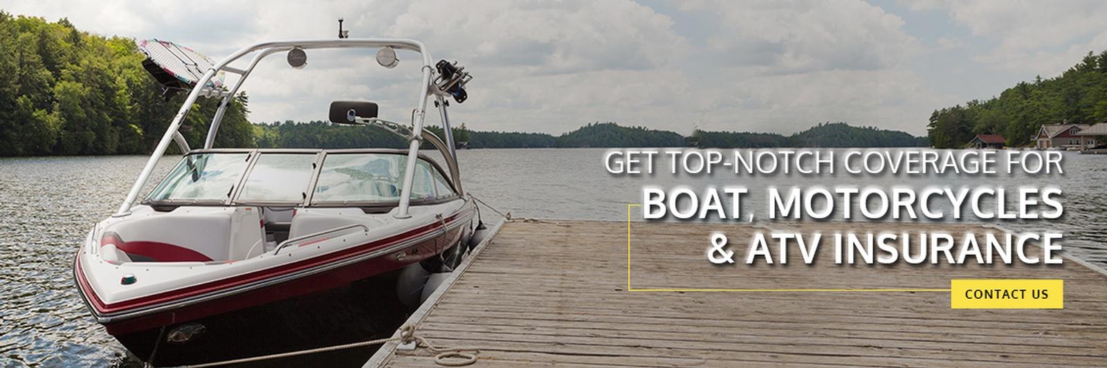 Boat and Marine Insurance Kelowna