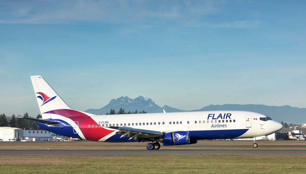 Flair Airlines Ltd., Kelowna, BC Canada
