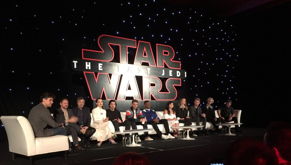 Star Wars: The Last Jedi cast & crew