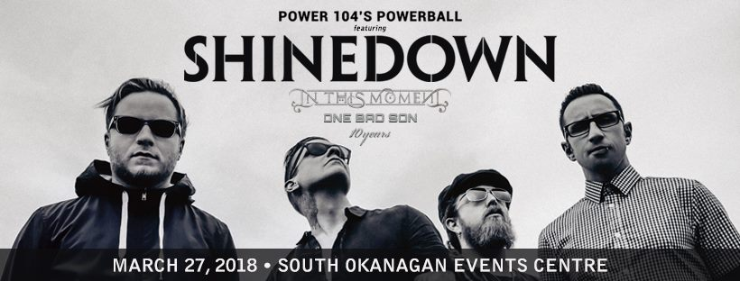 Shinedown at SOEC