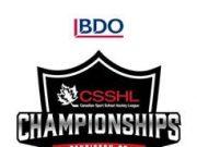 BDO CSSHL CHAMPIONSHIPS