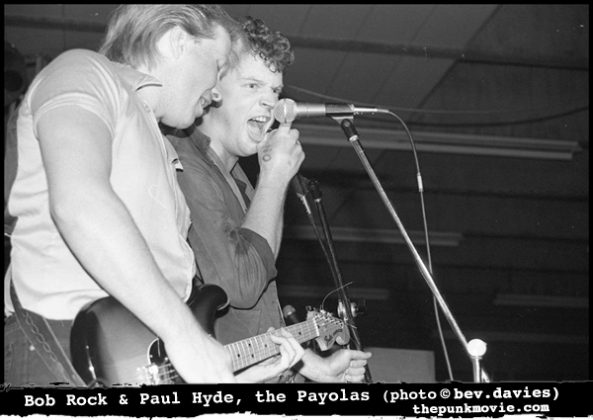 Paul Hyde and Bob Rock