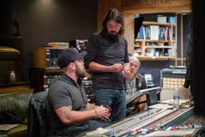 Dave Grohl at Little Mountain Sound