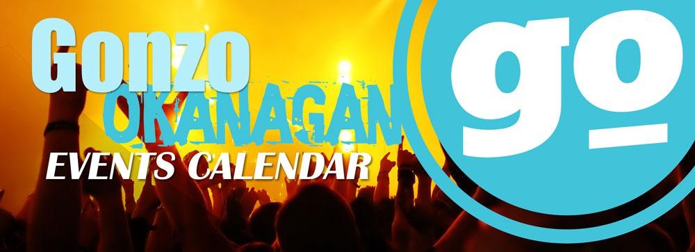 Gonzo Okanagan Online Events Calendar