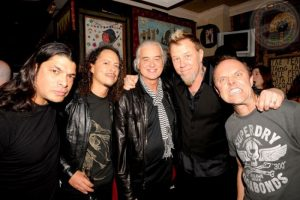 Metallica and Jimmy Page