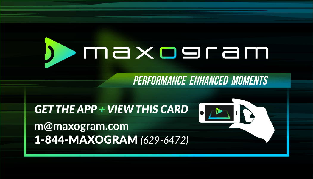 Maxogram – Performance Enhanced Moments