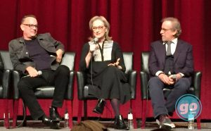 Tom Hanks Meryl Streep, Steven Spielberg for the Post