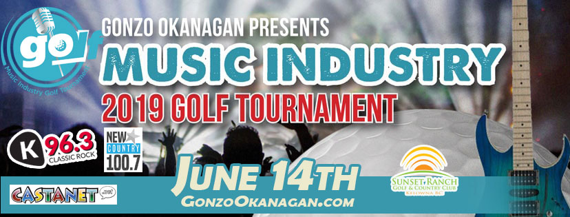 2nd Annual GonzoOkanagan.com Music Industry Golf Tournament