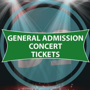 Golf Tournament Concert Tickets