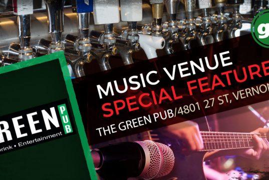 Music Venue Feature - The Green Pub Vernon BC