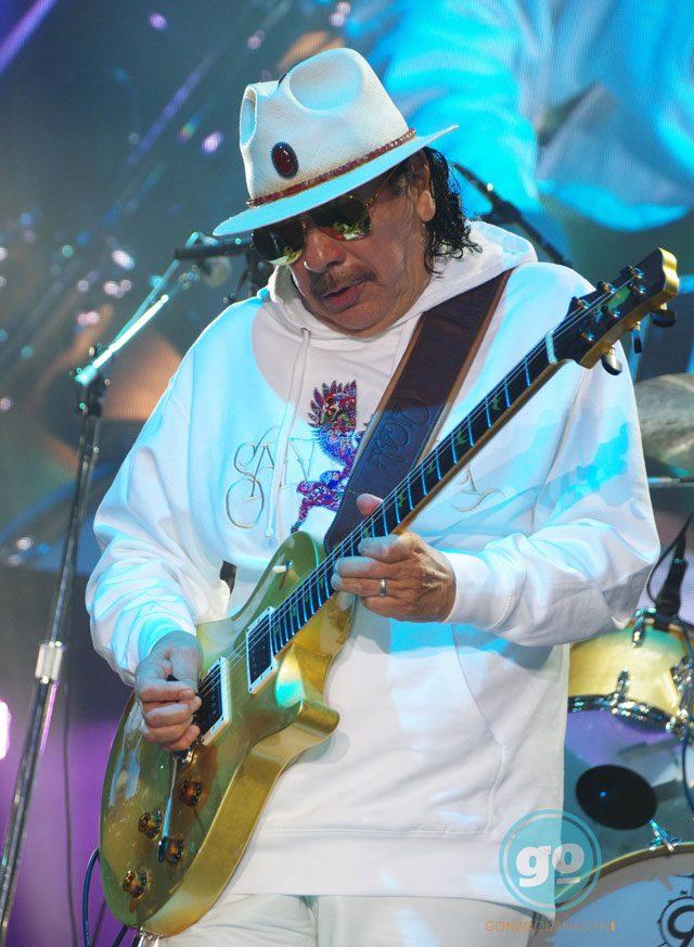 Carlos Santana Live in Kelowna BC Photo credit Barb Aguiar