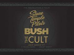 THE CULT STONE TEMPLE PILOTS BUSH REVOLUTION 3 TOUR WITH SPECIAL GUESTS BONES