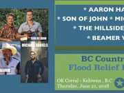 BCCMA Flood Relief Tonight at the Ok Corral Cabaret