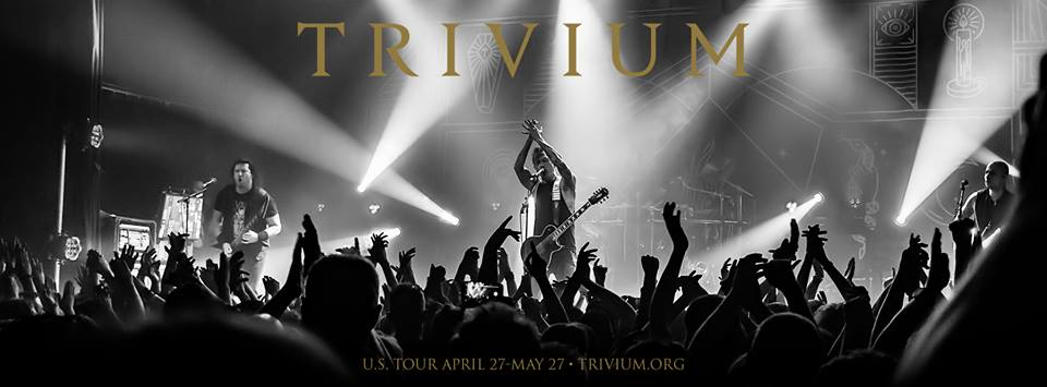 Trivium live on tour