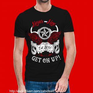 Linus Band T-Shirts - Black #2
