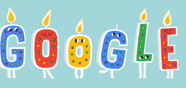 Googles Birthday