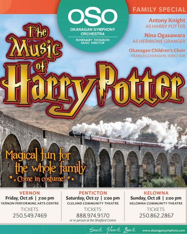 Okanagan Symphony Orchestra presents The Music of Harry Potter