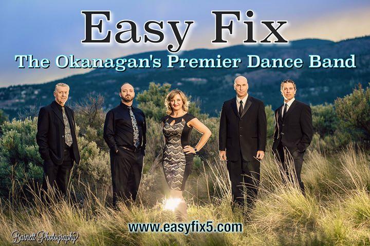 Easy Fix – The Okanagan's Premier Dance Band