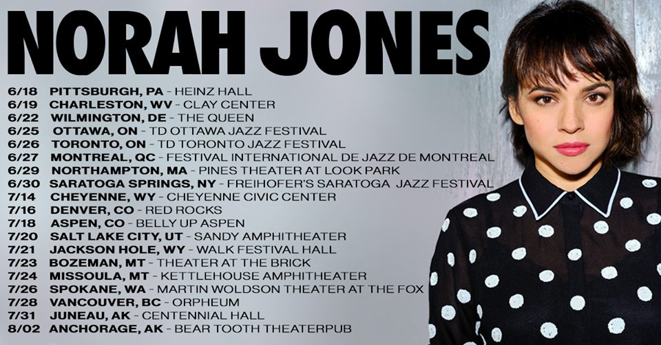 Norah Jones Tour 2019