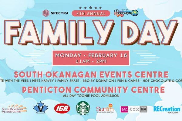 Spectra and City of Penticton's 4th annual Family Day