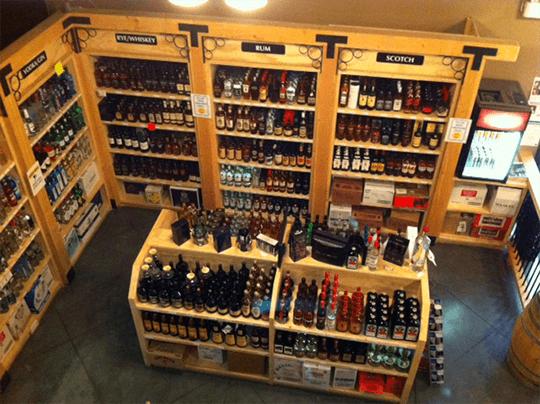 Government street liquor store shop