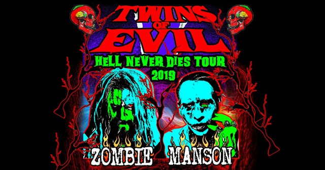 Twins Of Evil - Rob Zombie & Marilyn Manson Tour 2019