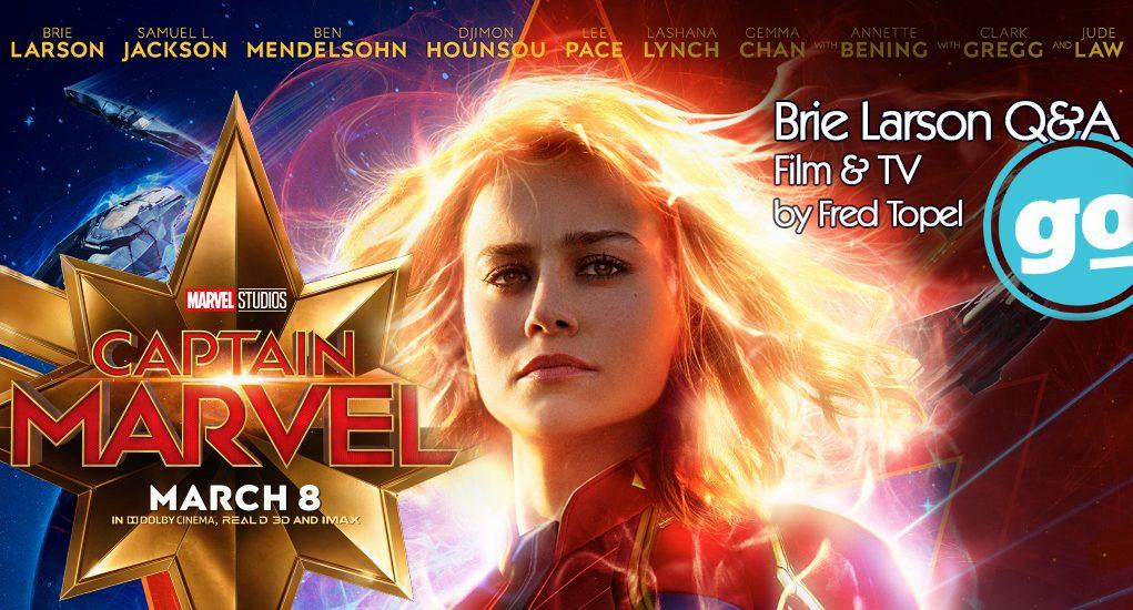 Captain Marvel: Brie Larson Q&A - Gonzo Okanagan Online News