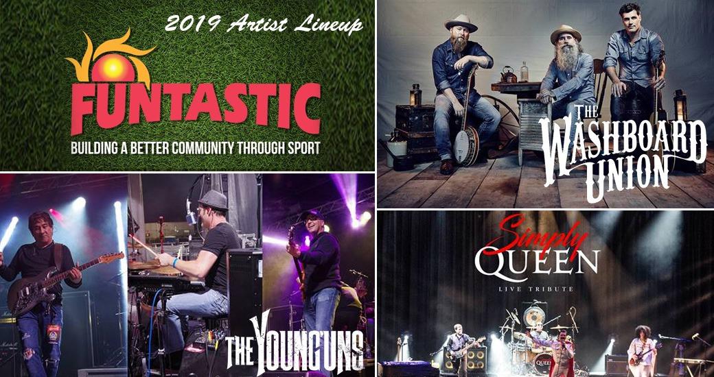 2019 A&W Funtastic Music Festival Artist Lineup