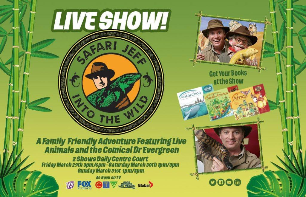 Vernon Family Events - Village Green Mall Safari Jeff