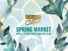 CRAFT CULTURE SPRING MARKET TO TAKE OVER THE KELOWNA CURLING CLUB