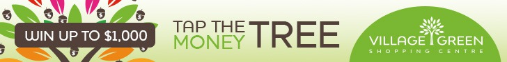 Village Green Mall Money Tree Contest