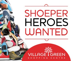 Village Green Mall Shoeper Heros Wanted