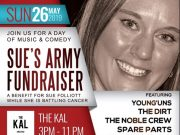 Sue's Army fundraiser to benefit Sue Folliott at The Kal