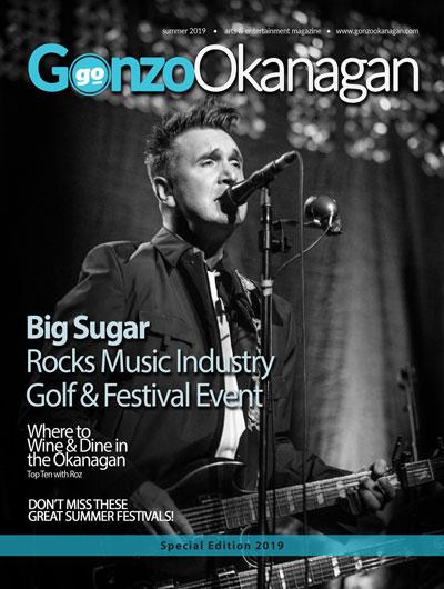 Gonzo Okanagan Magazine Front Cover