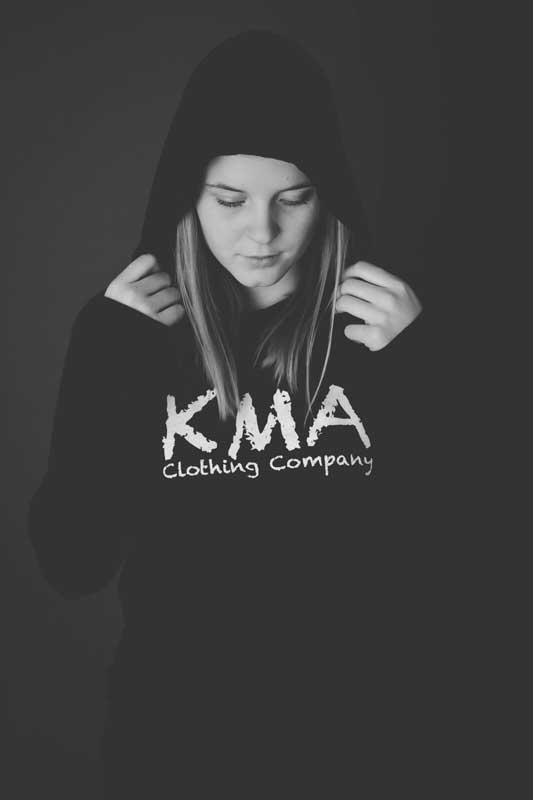 KMA Clothing Company = Black Hoodie
