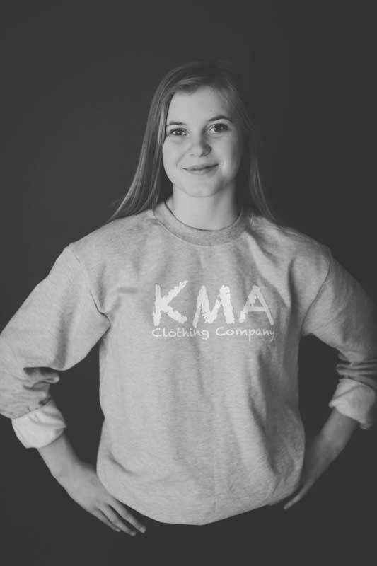 KMA Clothing Company = Grey Sweatshirt