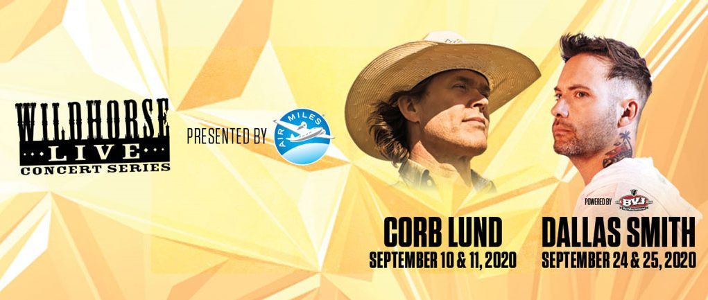 WILDHORSE LIVE, presented by the AIR MILES Reward Program