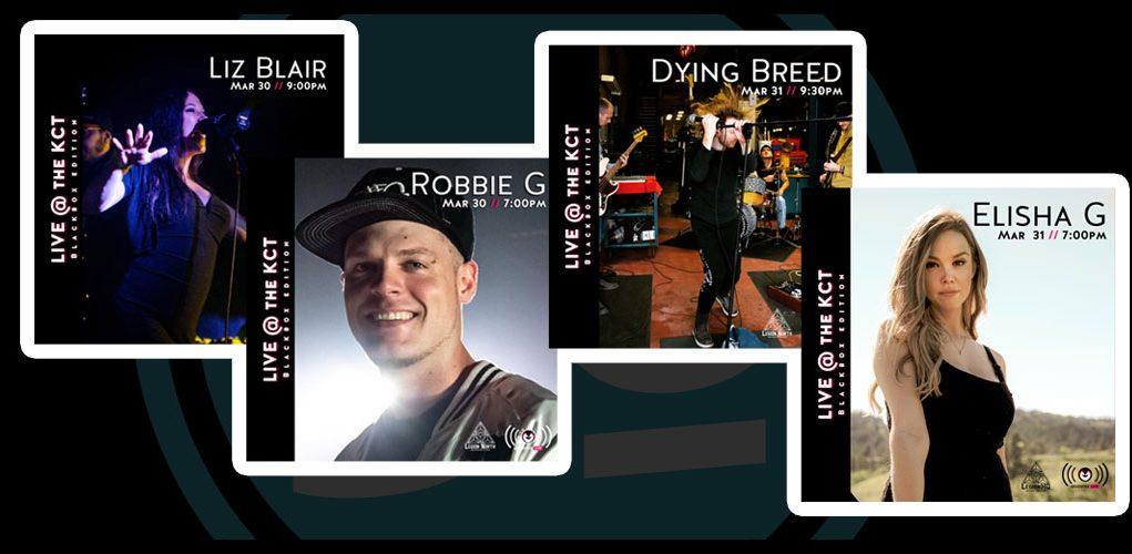 Robbie G, Liz Blair, Elisha G, Dying Breed, Rebellious Unicorns