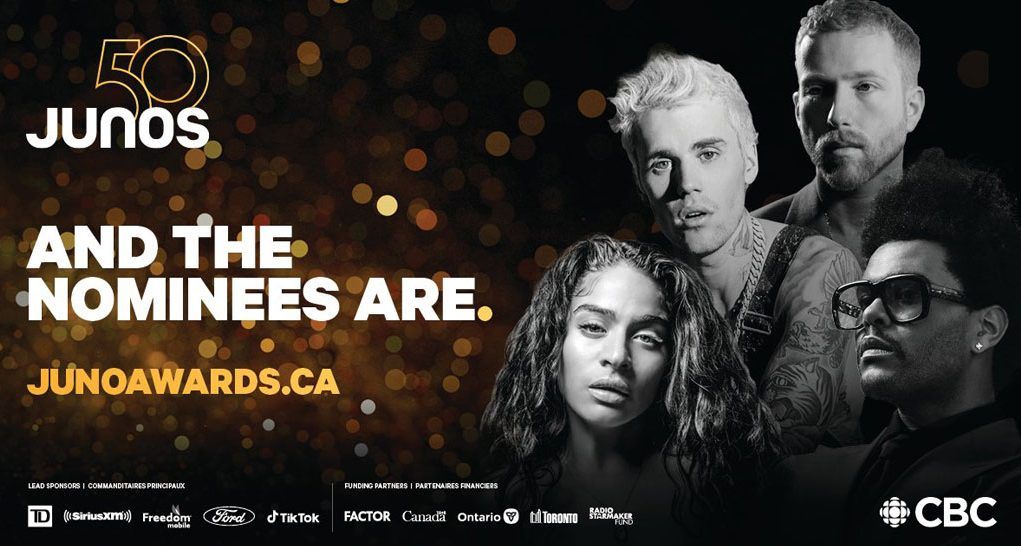 the 2021 juno awards nominee announcement