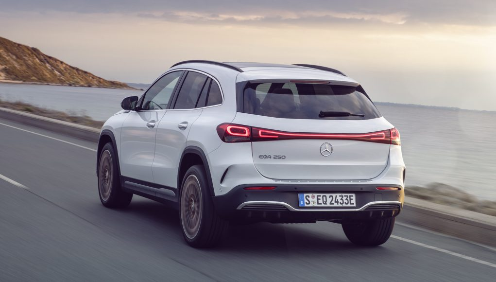 Mercedes-Benz Unveiled Its Brand New Electric SUV Named 'EQA'